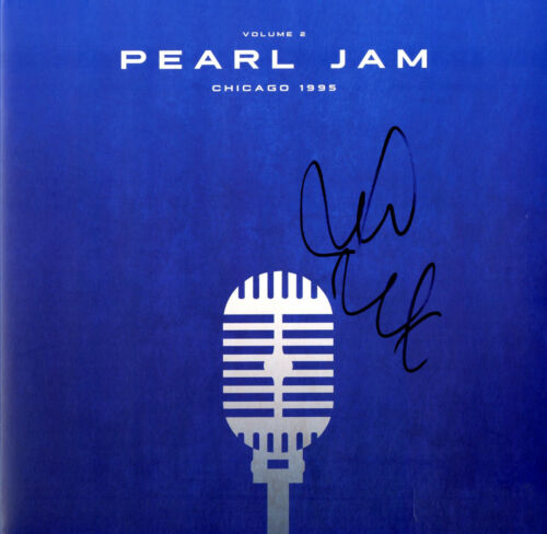 PEARL JAM Live in Chicago 95 Vol 2 Vinyl Record, Signed by Mike McCready