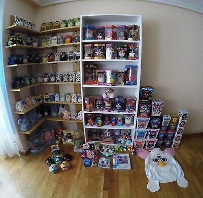 Vintage Furby Toy Collection Hasbro Tiger