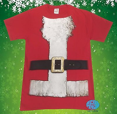 New Santa Beard Christmas Men's Suit Ugly Sweater Elf T-Shirt  - Ugly Sweater Suit