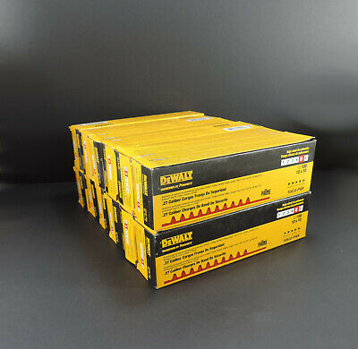 12 Dewalt Safety Strip Loads .27 Caliber Powder Actuated Power Level 5