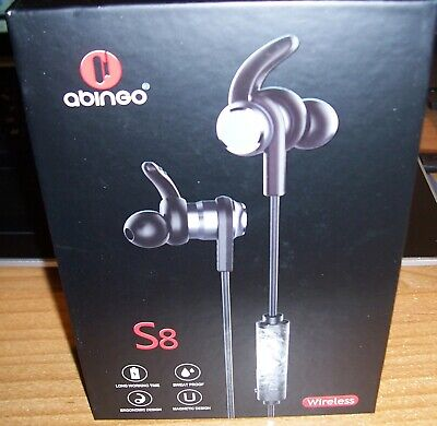 ABINGO S8 Sport Bluetooth, IPX 4 Waterproof, In-Ear Headphone, 7 hr Play Time for sale  Shipping to India