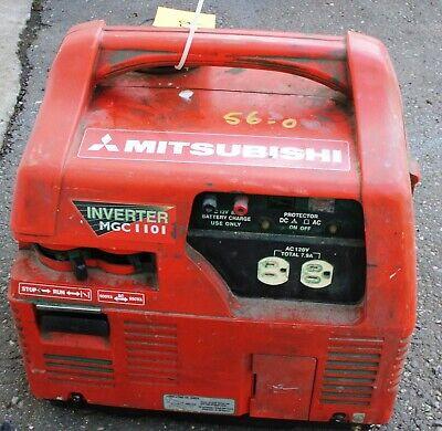 Mitsubishi Inverter Mgc 1101 Mini Electric Generator 120v Unleaded Gas Freeship