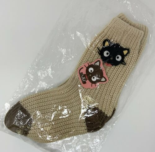 Sanrio Chcocat Winter Socks ~ 2002 Design