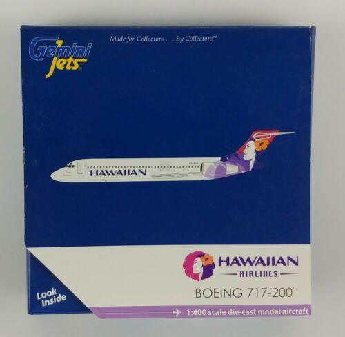 Gemini Jets Hawaiian Airlines Boeing 717-200 Diecast Model 1:400 Airplane 2011
