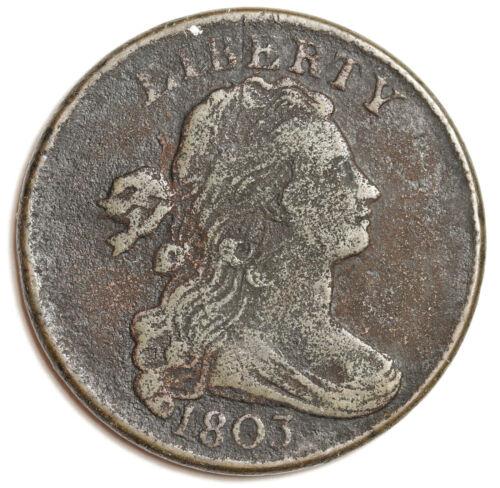 1803 Large Cent.  V.F. Detail.  149438