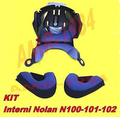 "KIT INTERNO CLIMA COMFORT + GUANCIALI  NOLAN N100 N101 N102  Taglia ""XL"""