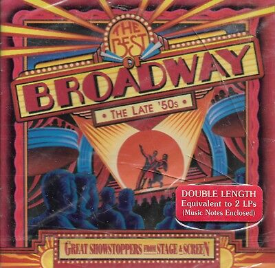 The Best Of Broadway: The Late 50's by Various Artists (Cd~1995)