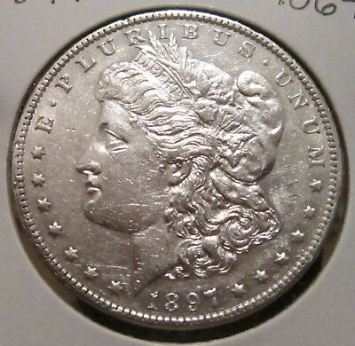 1897-O MORGAN SILVER DOLLAR BETTER DATE US SILVER COIN WITH GREAT DETAILS