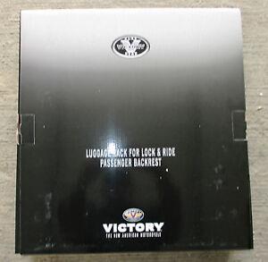 Polaris Victory Cross Country Lock & Ride Luggage Rack 2877950 / Chrome