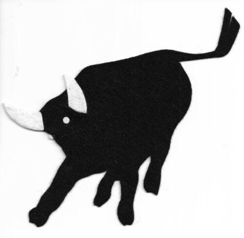 PHILMONT SCOUT RANCH * BLACK FELT BULL