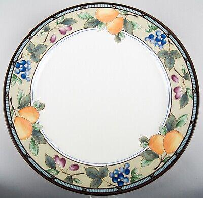 12 Chop Plate Round Platter - Mikasa Intaglio Garden Harvest Chop Plate Round Platter 12