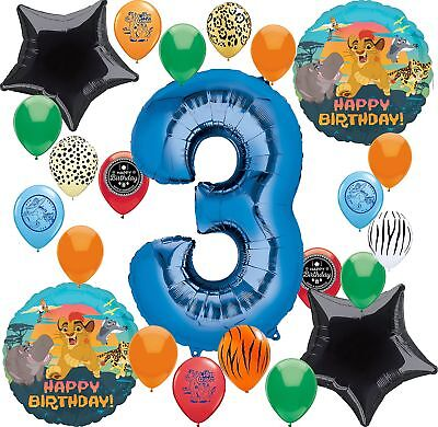 Lion Guard Party Supplies Happy Birthday Balloon Decoration Bundle (3rd Birth...](Happy Birth)