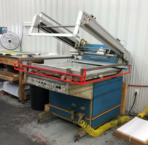 "30"" x 40"" Large Screen Printing Press"