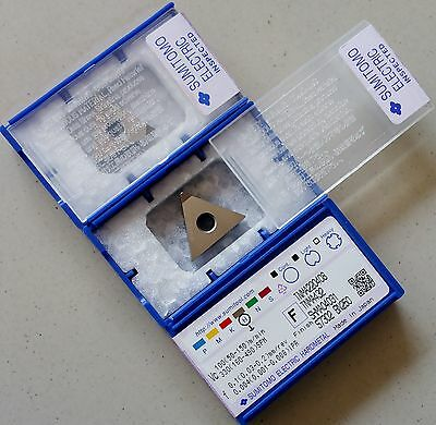 Sumitomo Cbn Tnma 432 220408 Bn250 Pcbn Tipped Carbide Insert Fits Tngatnmg