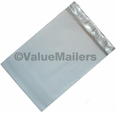 100 Poly Mailers Envelopes 12x16 Self Seal Plastic Bags Matte Finish 2.7 Mil