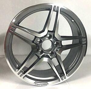 """Mercedes wheels 18"""" with new Tyres Burwood Burwood Area Preview"""
