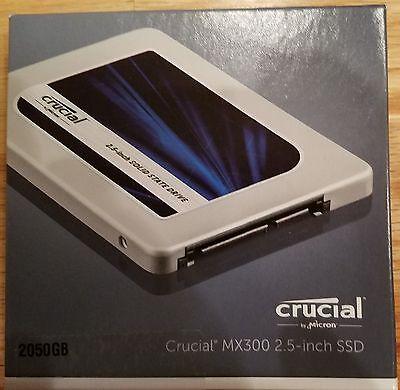 Crucial Mx300 2Tb Sata 2 5 Inch Internal Solid State Drive   Ct2050mx300ssd1