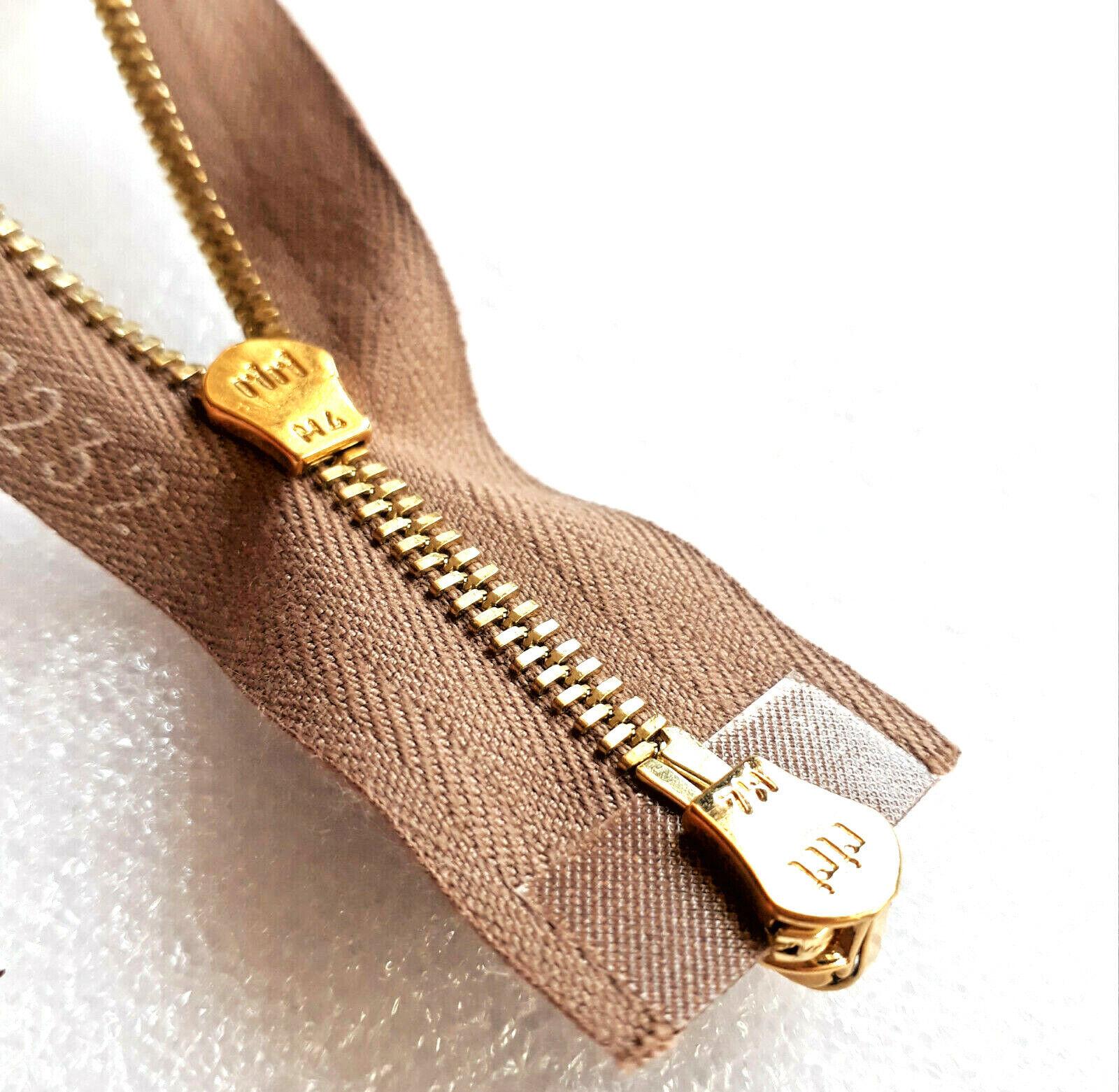 Reißverschluss gelb 64 cm 6 mm riri Swiss Zipper 1 W
