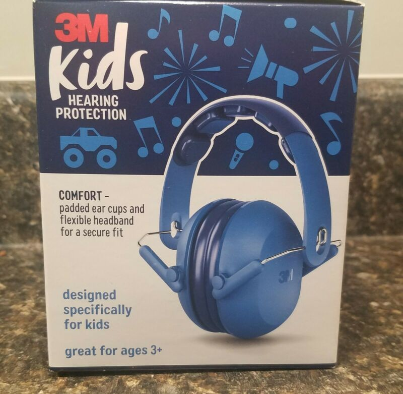 NEW! UNUSED! 3M Padded Kids Hearing Protection Ear muffs/Headphones