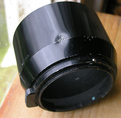 genuine nikon HS-14 lens hood  52mm clip in  for micro nikkor 105mm2.8 used