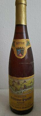 Weißwein Deutschland, RHEINHESSEN Bechtheimer Pilgerpfad Spätlese, Jahrgang 1971