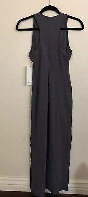 NWT Lululemon Size 4 Get Going Dress MONW Gray Blue $118