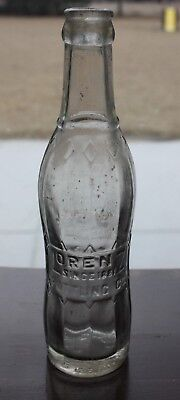 NASHVILLE IL ILLINOIS Lorenz Bottling Co embossed soda pop bottle circa 1930s