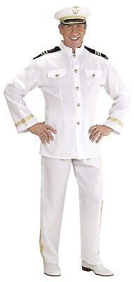 WIM 3249C Marine Kapitän Navy General Matrose Seemann Karneval Herren Kostüm