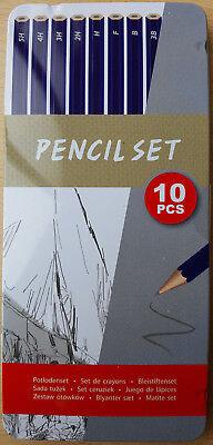 Künstler Bleistifte-Set verschiedene Stärken Härtegrade zeichnen skizzieren