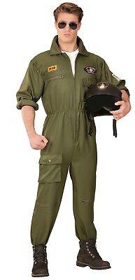Army Kampfpilot Kostüm für Herren NEU - Herren Karneval Fasching Verkleidung - Army Kostüm Für Herren