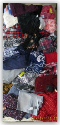 CLOTHING lot 2 for resale Swap meet flea market 100 WOMENS SHIRTS EVERYTHING NEW