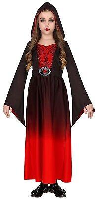 Wim 47466 Vampir Hexe Spinnenhexe Gothic Girl Fasching Halloween Mädchen Kostüm