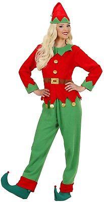 WIM 88991 Damen Kostüm Elf Santas Kleine Helfer Weihnachten Christmas Elfen