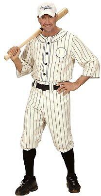 aseball Spieler Baseballspieler Karneval Herren Kostüm  (Sportler Kostüm)
