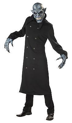 Gothic Walking Dead Night Fiend Vampire Zombie Hunter Adult Costume - Men Zombie Costume