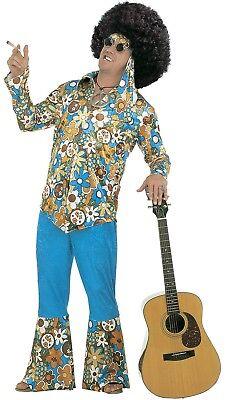 ANT 3171H Hippie Man Flower Power 60er 70er Fasching Karneval Herren Kostüm XXL (Ant Man Kostüm)