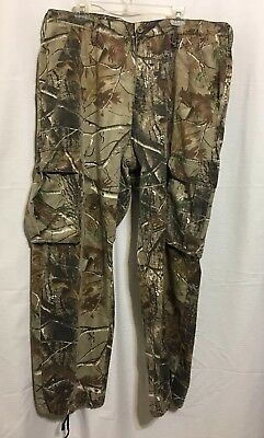564152c5ec Men's REALTREE Camo Cargo Camouflage Hunting Pants Size XL (40-42)