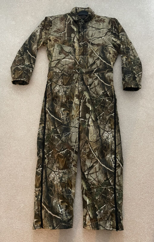 Red Head Mens Hunting Insulated Coveralls RealTree AP Camo Large