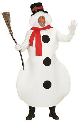 ANT 02877 Schneemann Schneefrau Herren Damen Unisex Kostüm - Schnee Weisse Frau Kostüme