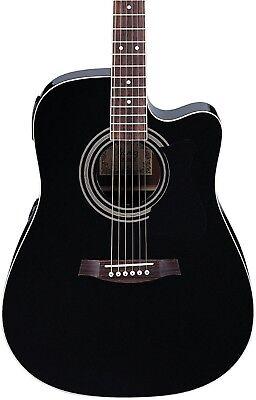 Ibanez Acoustic Electric Guitar - Ibanez V70CE Acoustic-Electric Guitar Black