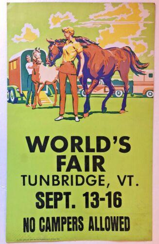 TUNBRIDGE VT 1976 WORLD