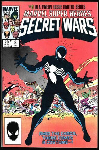 Marvel Super Heroes Secret Wars #8 VF- 1st app. Alien Symbiote!