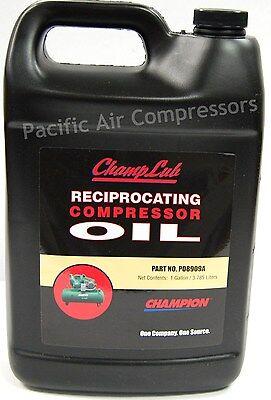 1 Gallon Champlub Reciprocating Compressor Oil P08909a