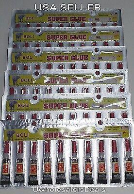 Super Glue - 'Cyanoacrylate Adhesive' 50 Tubes - FREE SHIPPING