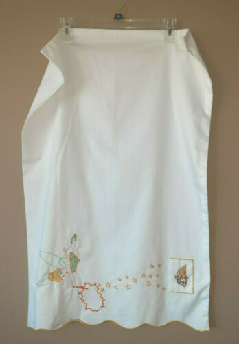 Handmade Embroidered Cross Stitch Personailze Tooth Fairy Pocket Pillow Case