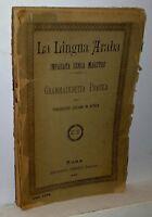 La Lingua Araba Imparata Senza Maestro Roma E.perino 1888 -  - ebay.it