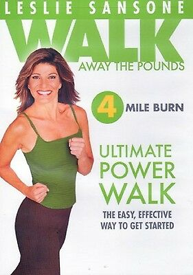 Leslie Sansone Walk Away The Pounds Ultimate Power Walk Dvd Workout 4 Mile Burn