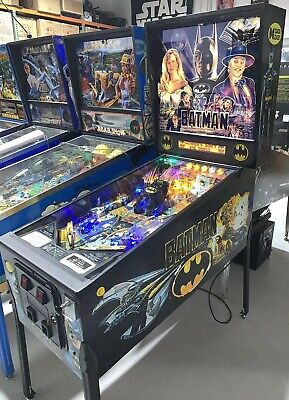 Batman Pinball Machine By Data East Coin Op LED