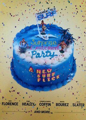 Surf Party Movie (Surprise Excitement Party DVD by Transworld Surf Surfing Movie)