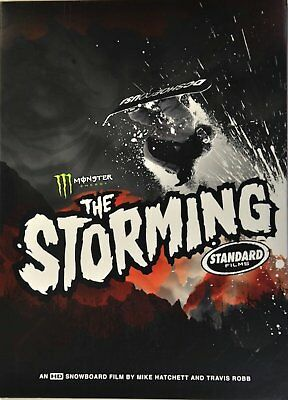 THE STORMING DVD - Standard Films Snowboard Video Movie Extreme Sports